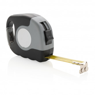 Measuring tape with carabiner