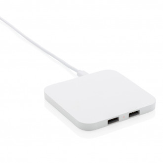 10W Wireless Charger with USB Ports