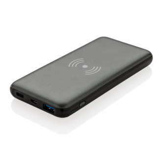 10.000 mAh Fast Charging 10W Wireless Powerbank with PD