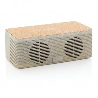 Wheatstraw wireless charging speaker