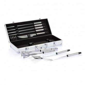 12 pcs barbecue set in aluminium box
