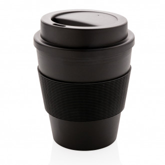 Reusable Coffee cup with screw lid 350ml