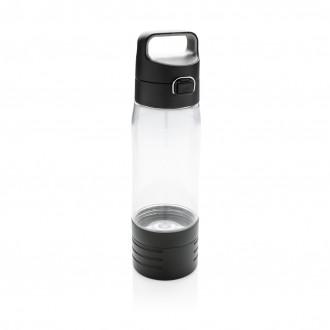 Hydrate bottle with true wireless earbuds