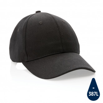 Impact 6 panel 280gr Recycled cotton cap with AWARE™ tracer