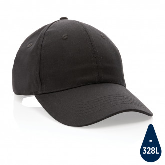 Impact 6 panel 190gr Recycled cotton cap with AWARE™ tracer