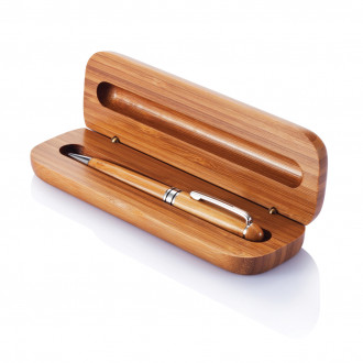 Bamboo pen in box