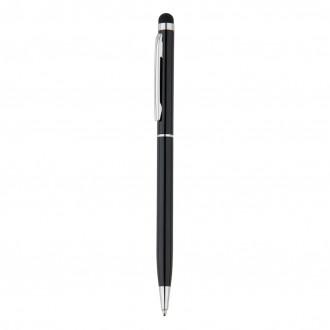 Thin metal stylus pen