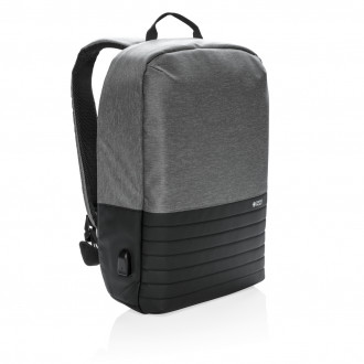 "Swiss Peak RFID anti-theft 15.6"" laptop backpack"