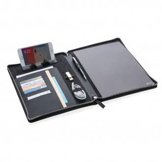 Heritage A4 portfolio with zipper