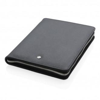 Heritage A5 portfolio with zipper