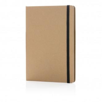 Eco-friendly A5 kraft notebook
