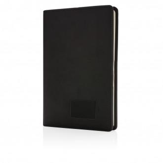 Light up logo notebook