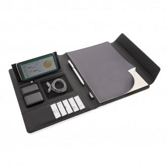 Fiko wireless charging portfolio A4 with powerbank