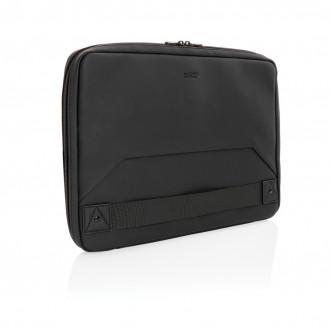 Swiss Peak vegan leather laptop sleeve workstation PVC free