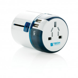 Travel Blue world travel adapter USB