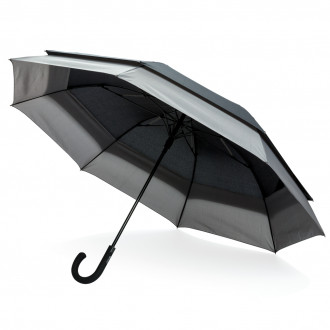 "Swiss Peak 23"" to 27"" expandable umbrella"